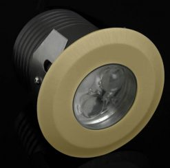 Deka Round Brass Warm White LED