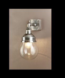 EL-Dover Wall Light Antique Silver