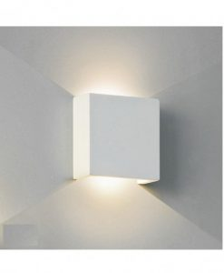 HT-HV8061 CANDY Square Plaster Wall Light