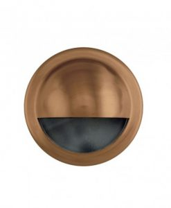HV2918W Solid Copper Steplight with Eyelid