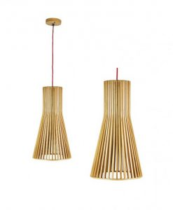 O-NORD Natural Timber Pendant (OL64601NAT)