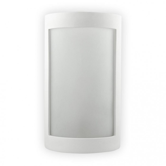 Wall Lights Frosted Glass : BF-8202 Ceramic Frosted Glass Wall Light Raw / E27 D-Lighting