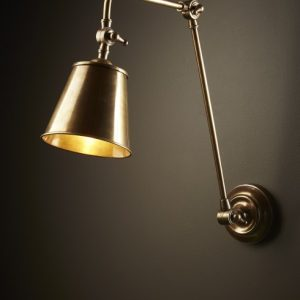 Cromwell Wall Lamp In Brass
