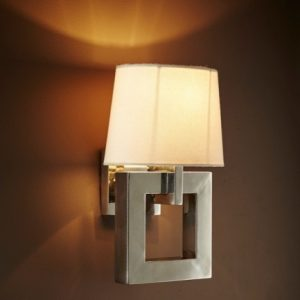 Beverley Wall Sconce Nickel
